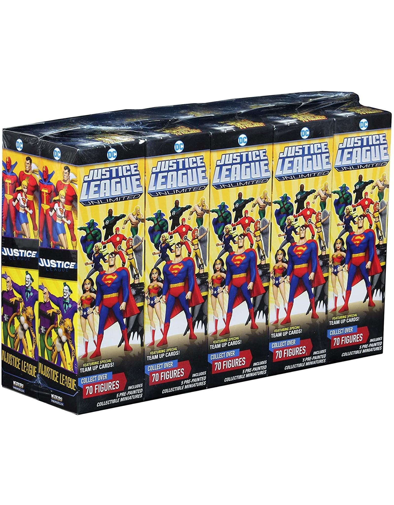 Wizkids DC HeroClix: Justice League Unlimited Booster Brick