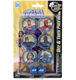 Wizkids DC HeroClix: Justice League Unlimited Dice and Token Set
