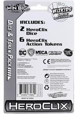 Wizkids DC HeroClix: Justice League Unlimited Dice and Token Set