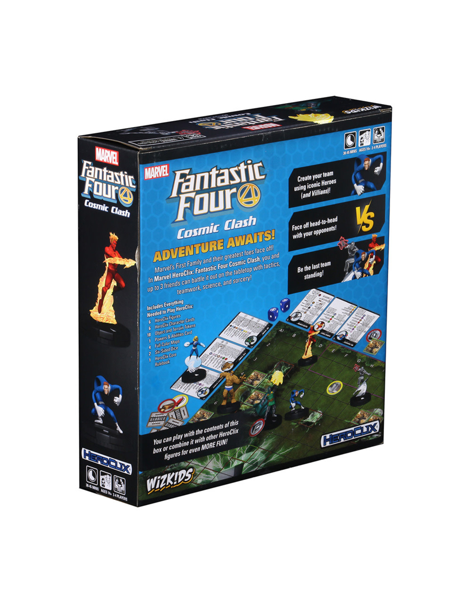 Wizkids Marvel HeroClix: Fantastic Four Cosmic Clash Starter Set
