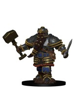 Wizkids D&D Minis: Icons of the Realms Premium Figures W2 Dwarf Male Fighter