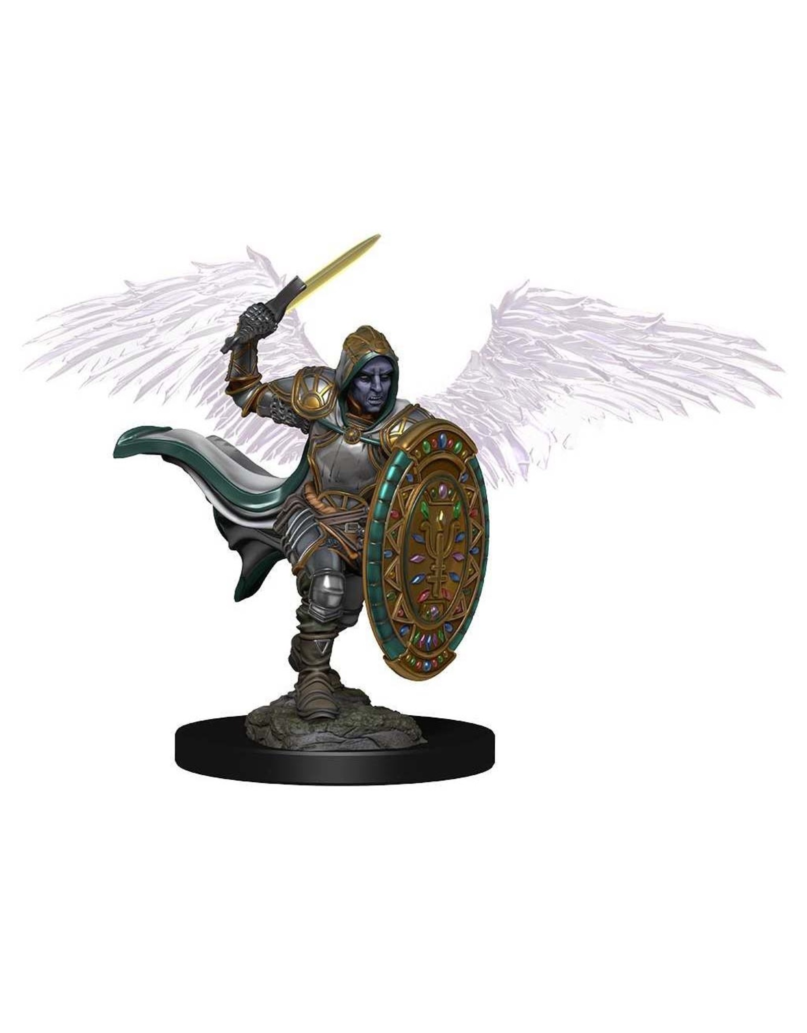 Wizkids D&D Minis: Icons of the Realms Premium Figures W2 Aasimar Male Paladin