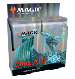 Wizards of the Coast Core Set 2021 Collector Booster box