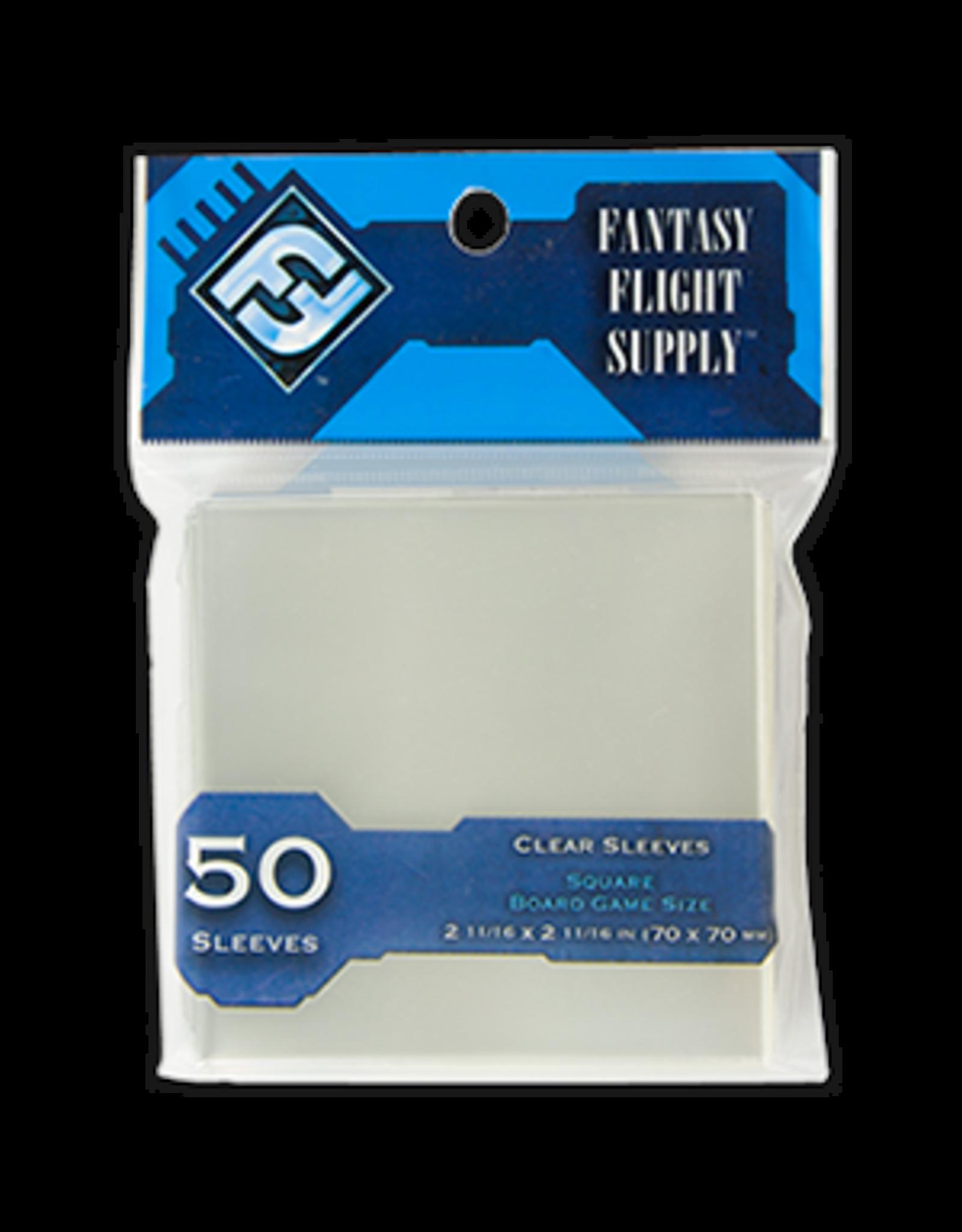 Fantasy Flight Games Fantasy Flight Square Board Game (Blue Size) Sleeves 50 count