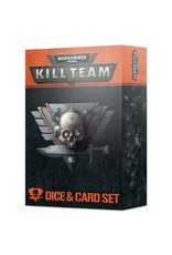 Games Workshop Warhammer 40K: Kill Team Card and Dice Set