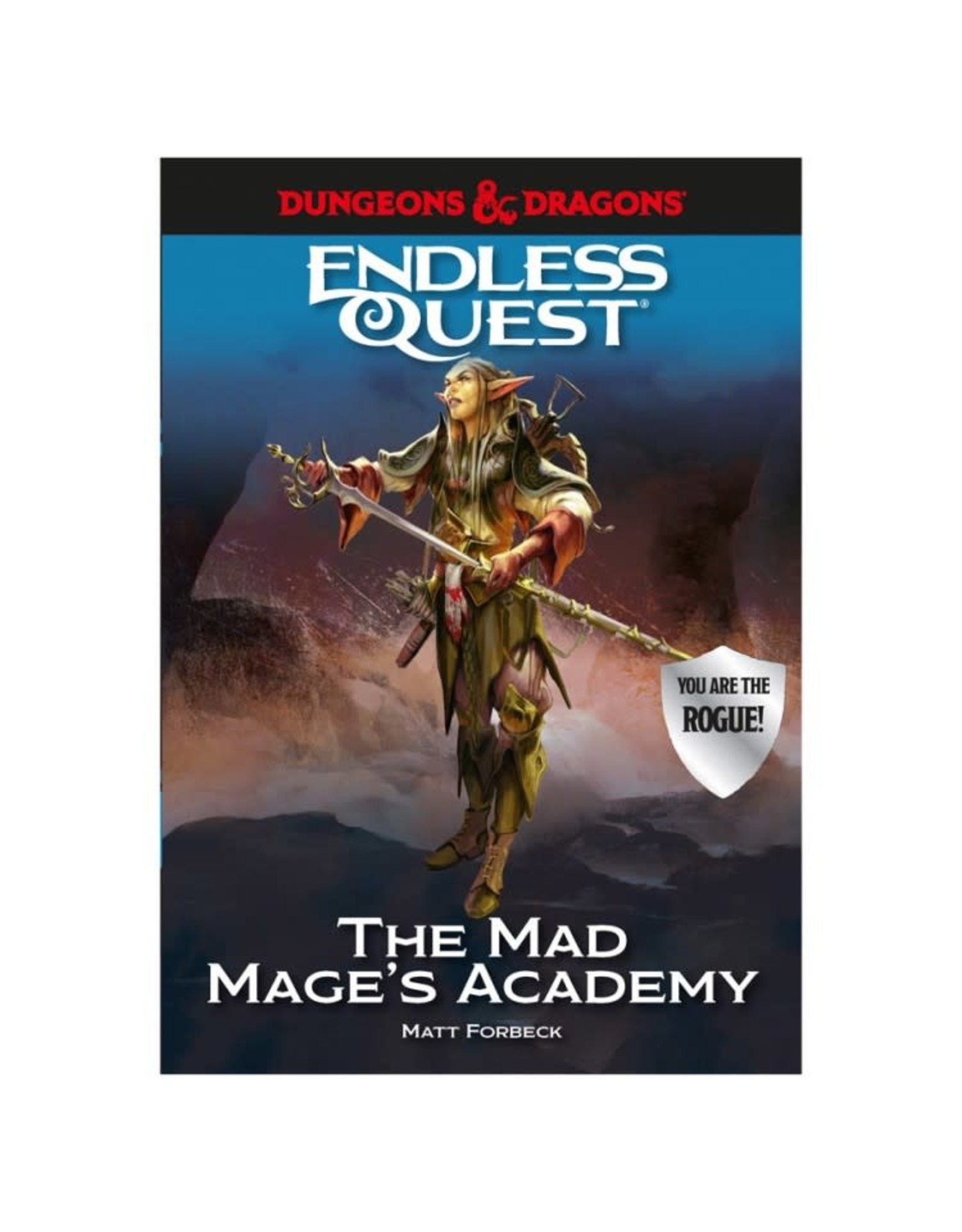 Random House D&D: An Endless Quest Adventure - The Mad Mage's Academy (Hardcover)