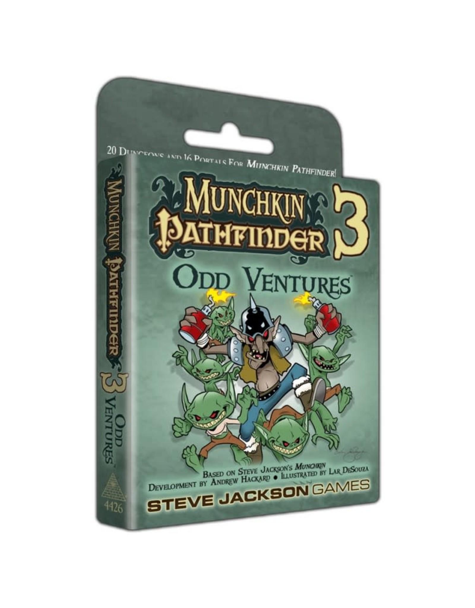 Steve Jackson Games Munchkin Pathfinder 3: Odd Ventures