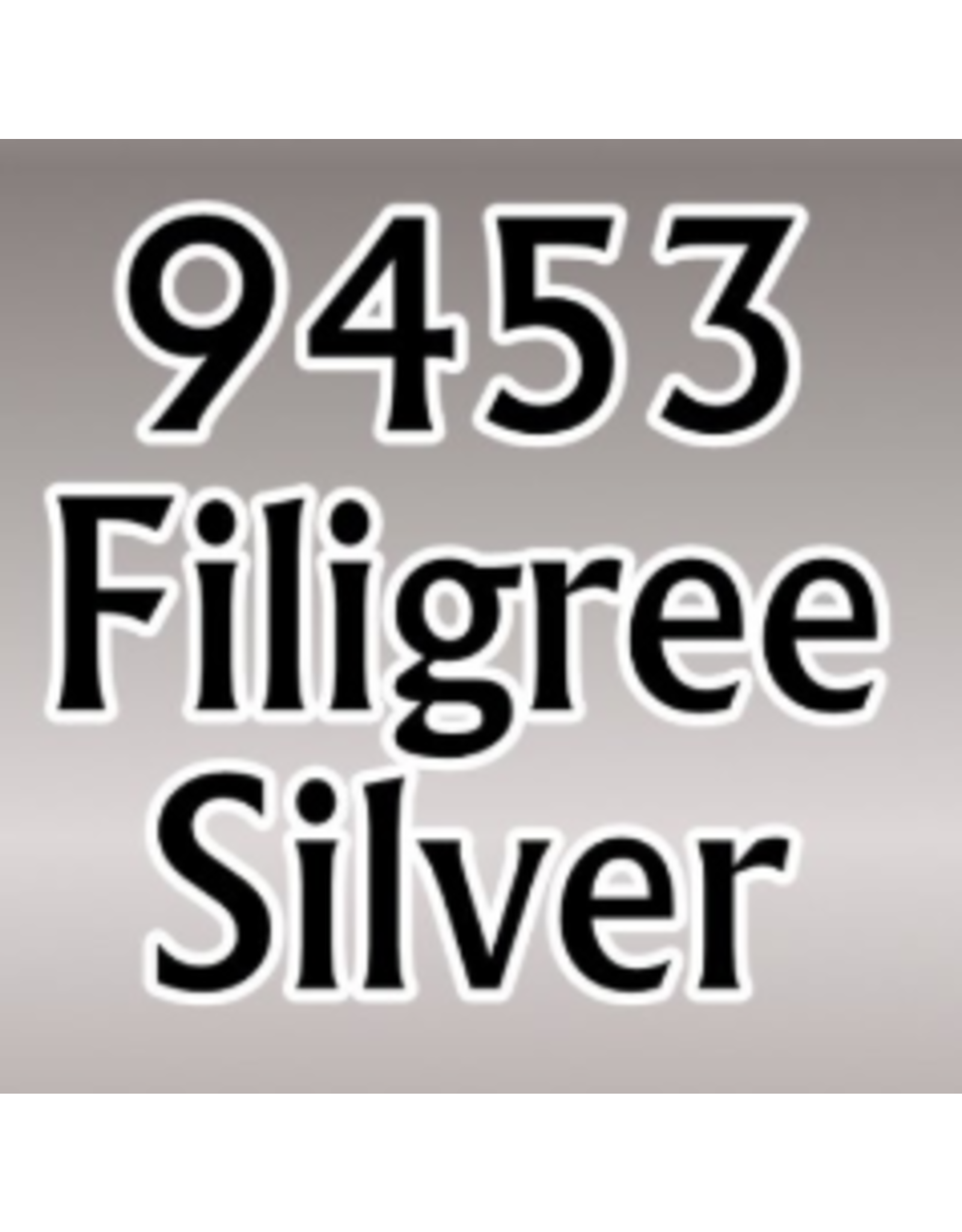 Reaper Master Series Paints: Filigree Silver 1/2oz