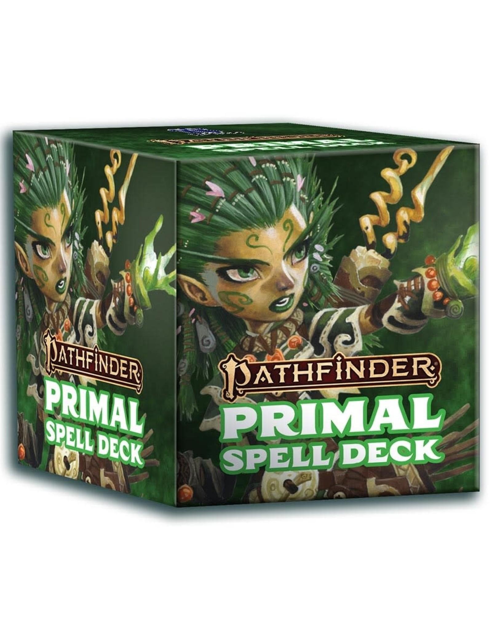 Paizo Pathfinder 2E: Spell Cards - Primal