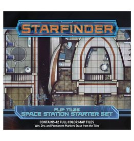 Paizo Starfinder RPG: Flip-Tiles - Space Station Starter Set