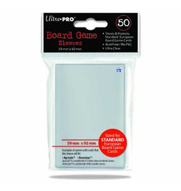Ultra Pro Ultra Pro Standard European Board Game Sleeves 50 count