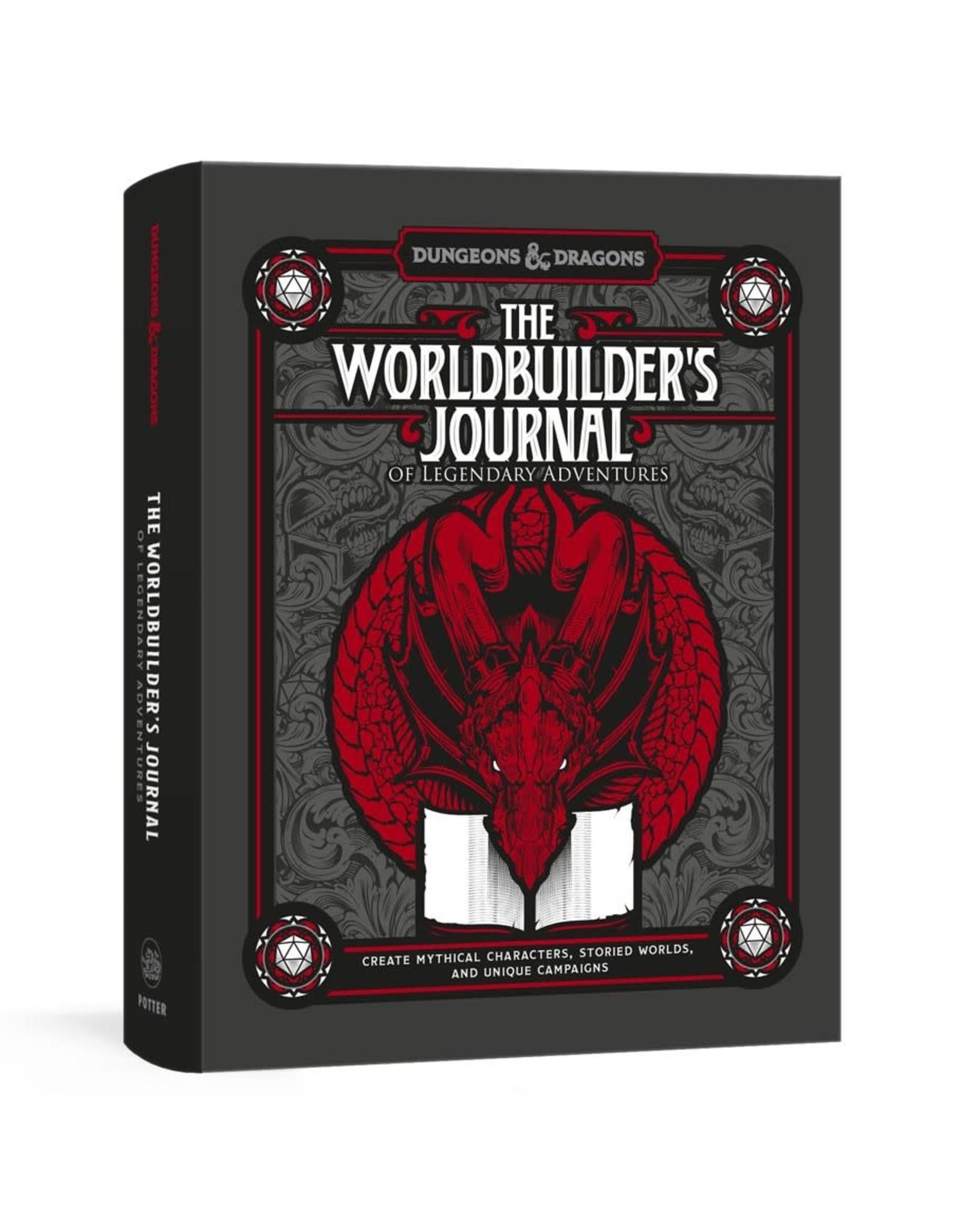 Random House D&D: The Worldbuilder's Journal of Legendary Adventures