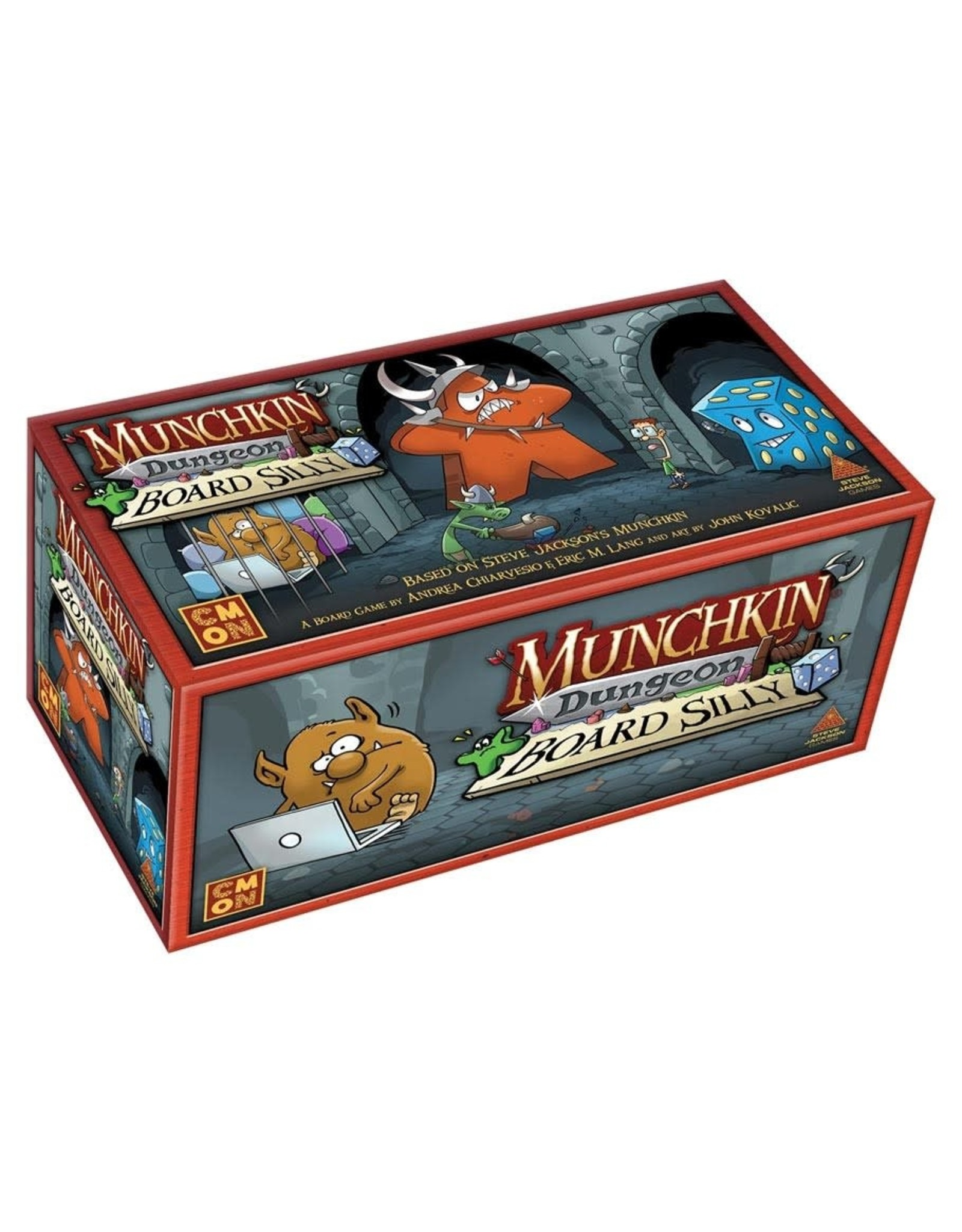 Cool Mini or Not Munchkin Dungeon: Board Silly