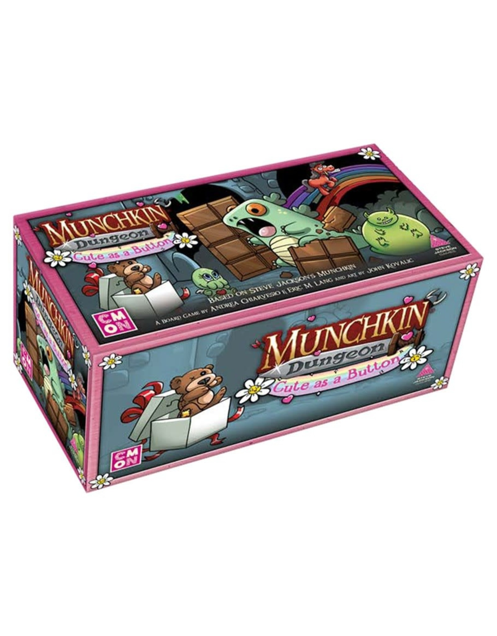 Cool Mini or Not Munchkin Dungeon: Cute as a Button