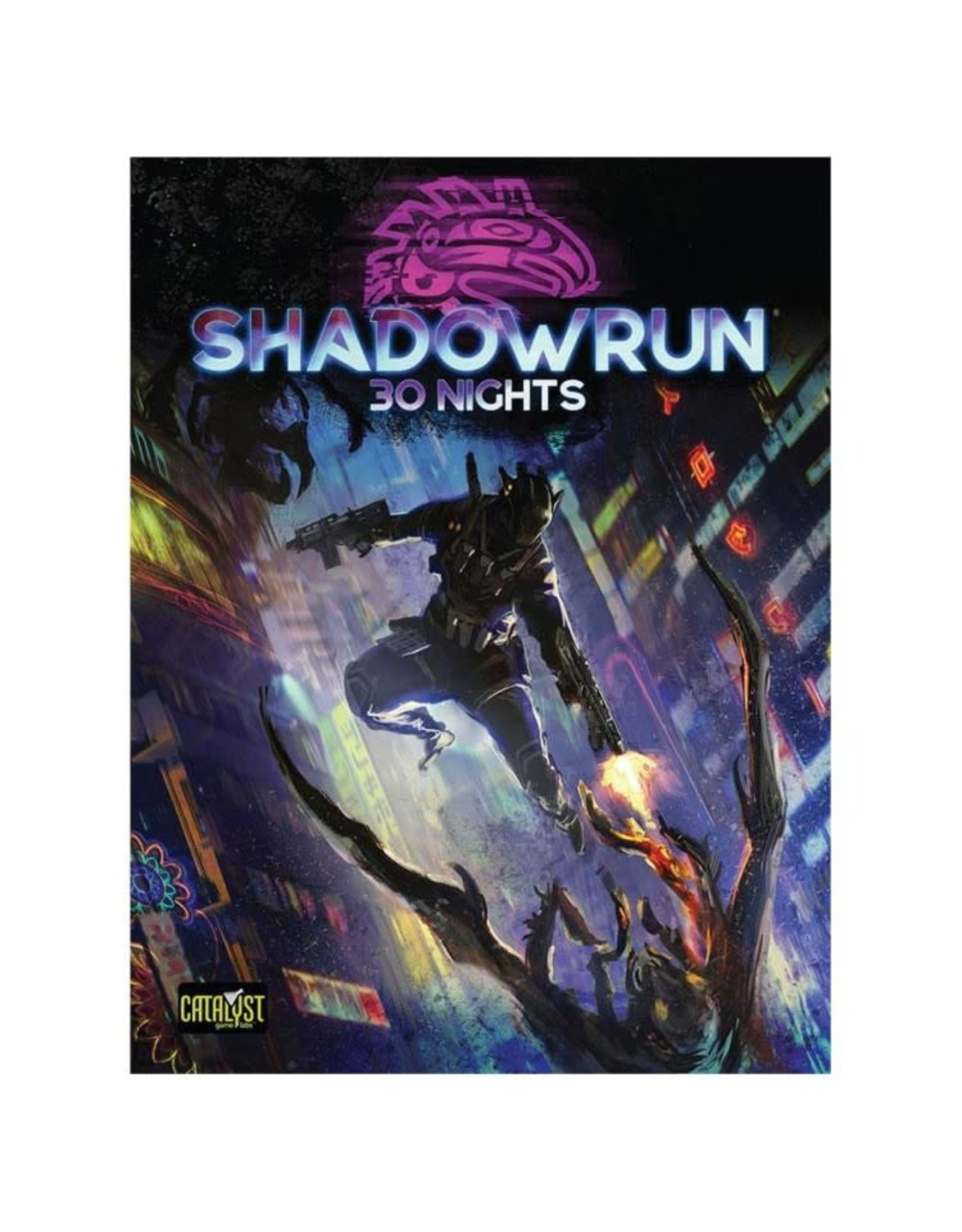 Catalyst Game Labs Shadowrun 6th Edition 30 Nights