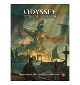 Modiphius 5E: Odyssey of the Dragonlords Core Rulebook
