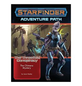 Paizo Starfinder Adventure Path: The Threefold Conspiracy 1 - The Chimera Mystery