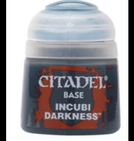 Games Workshop Citadel Base Incubi Darkness
