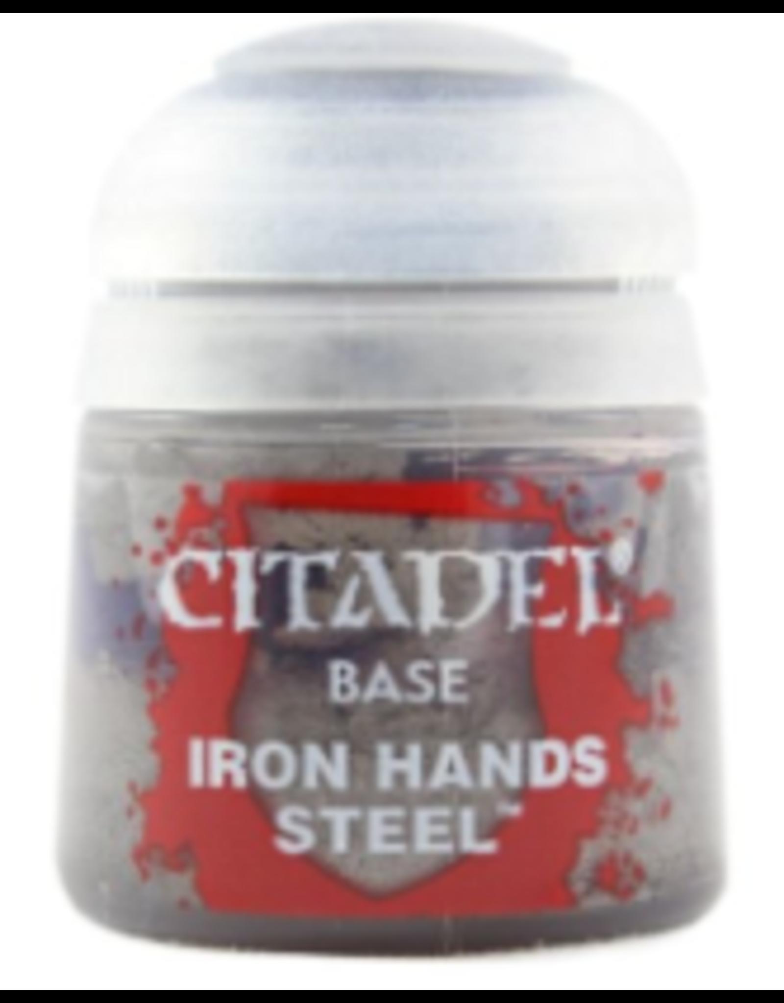 Games Workshop BASE: IRON HANDS STEEL (12ML)