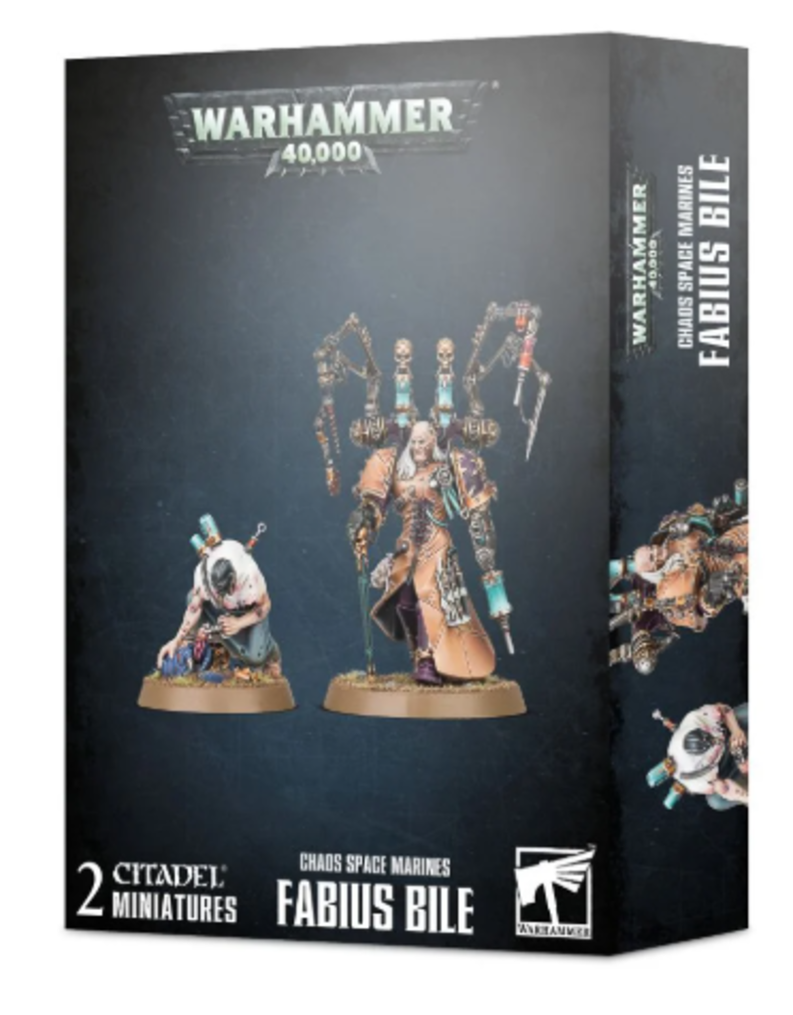 Games Workshop CHAOS SPACE MARINES: FABIUS BILE
