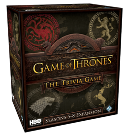 Fantasy Flight Games HBO Game of Thrones: The Trivia Game - Seasons 5-8 Expansion