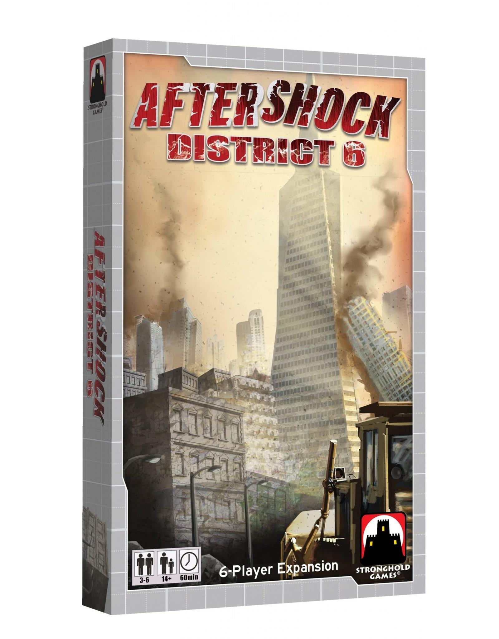 Stronghold Games Aftershock: District 6 Expansion