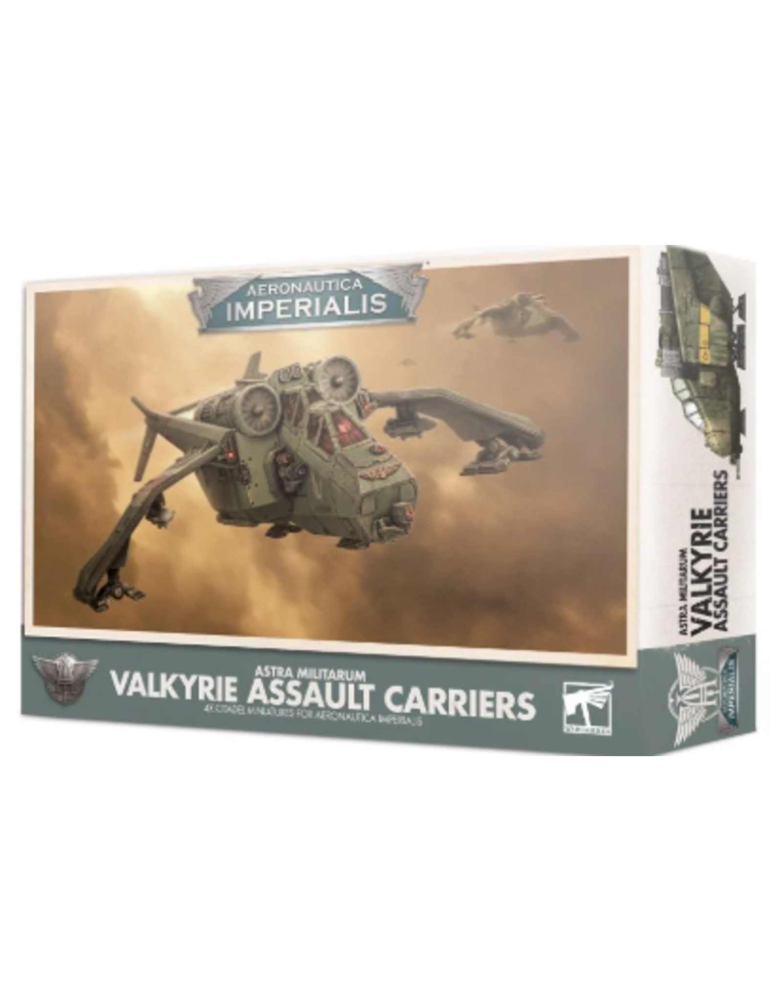 Games Workshop Aeronautica Imperialis : VALKYRIE ASSAULT CARRIERS