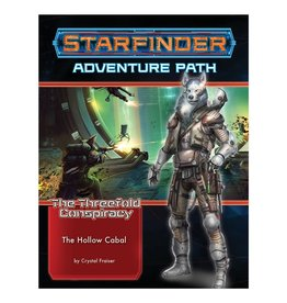 Paizo Starfinder Adventure Path: The Threefold Conspiracy 4 - The Hollow Cabal