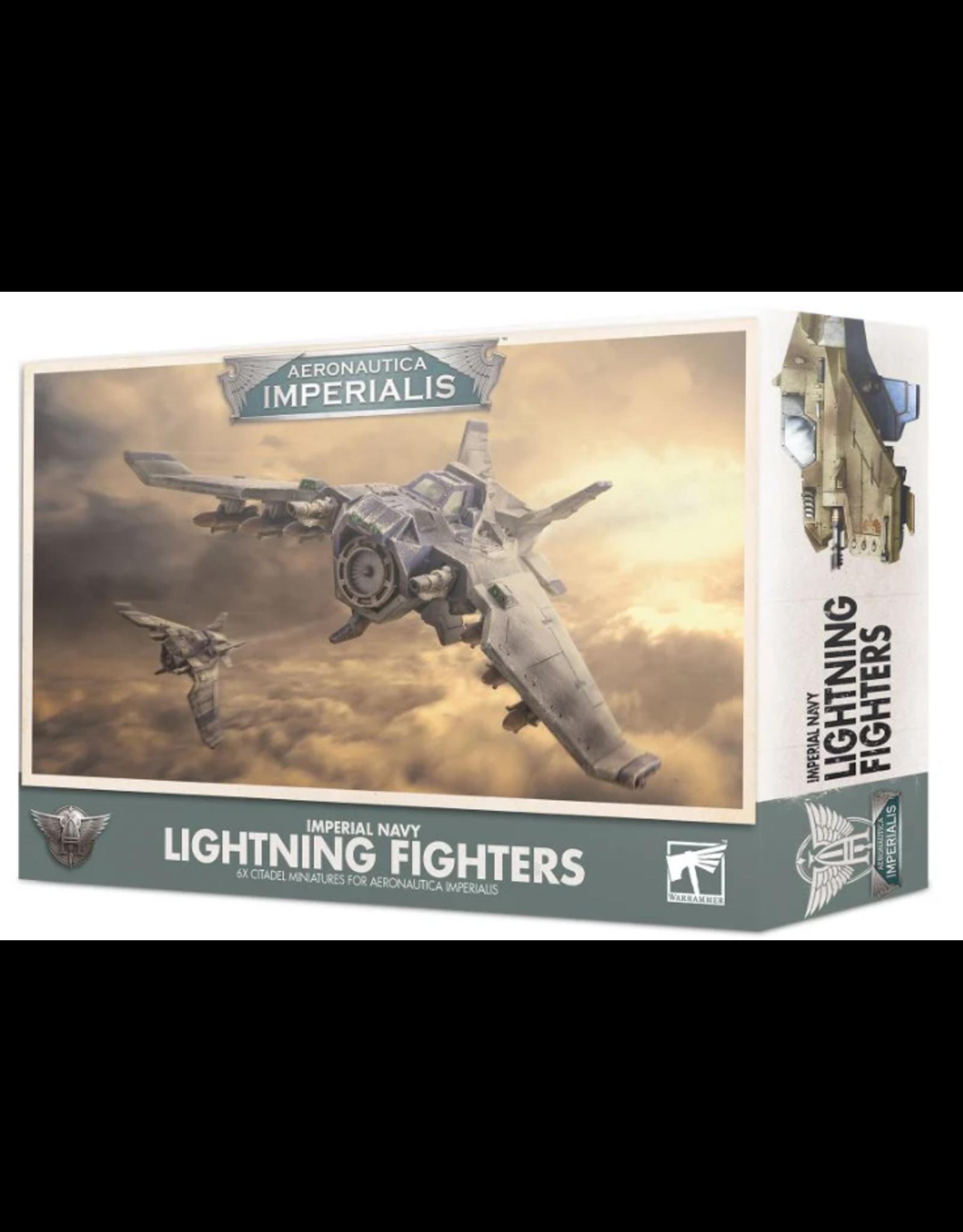 Games Workshop Aeronautica Imperialis : Navy Lightning Fighter