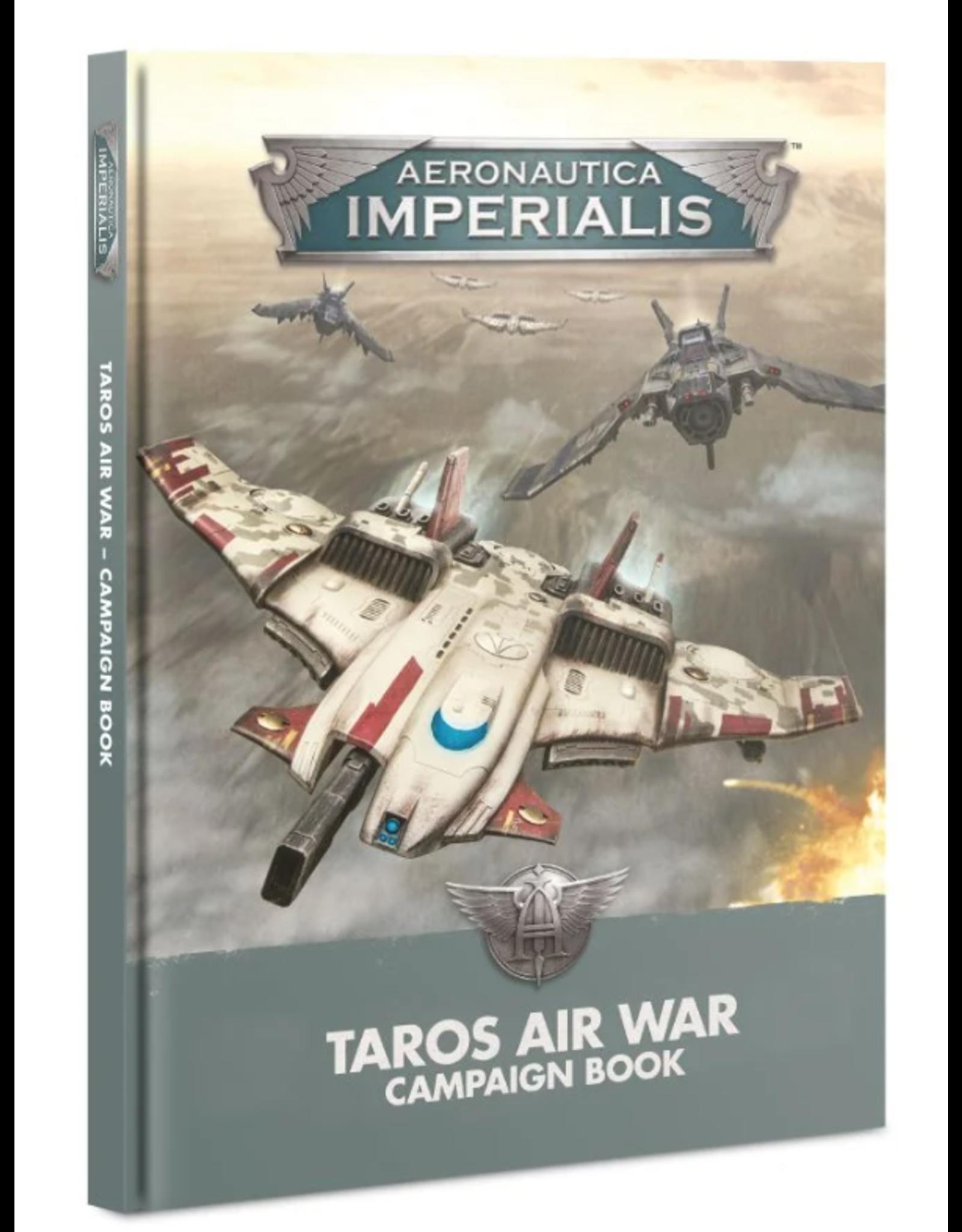 Games Workshop Aeronautica Imperialis :  Taros Air War Campaign Book
