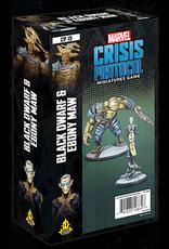 Atomic Mass Games Black Dwarf and Ebony Maw Character Pack - Marvel Crisis Protocol