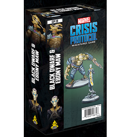 Atomic Mass Games Black Dwarf and Ebony Maw Character Pack - Marvel Crisis Protocol