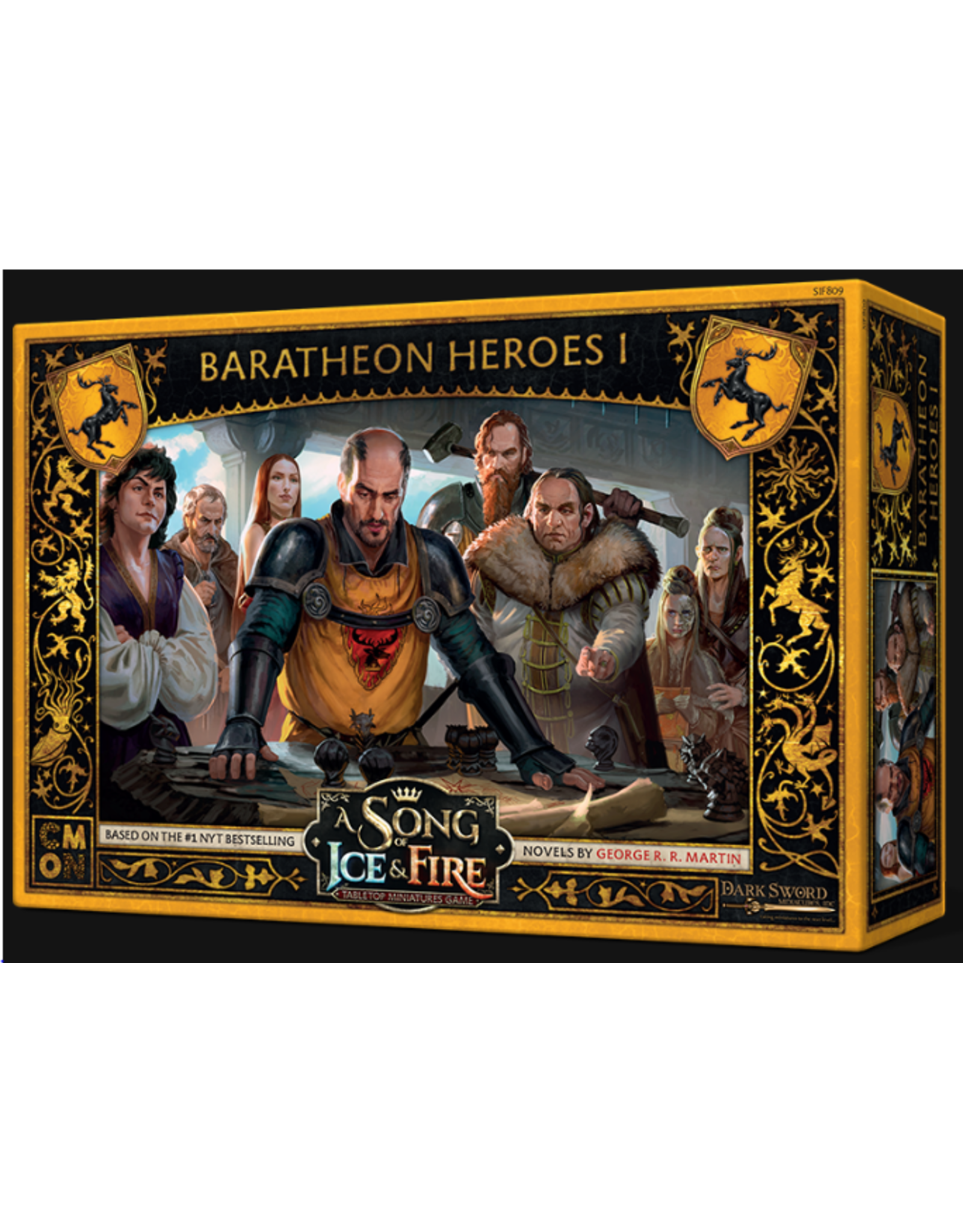 Cool Mini or Not A Song of Ice & Fire Tabletop Miniatures Game: Baratheon Heroes #1
