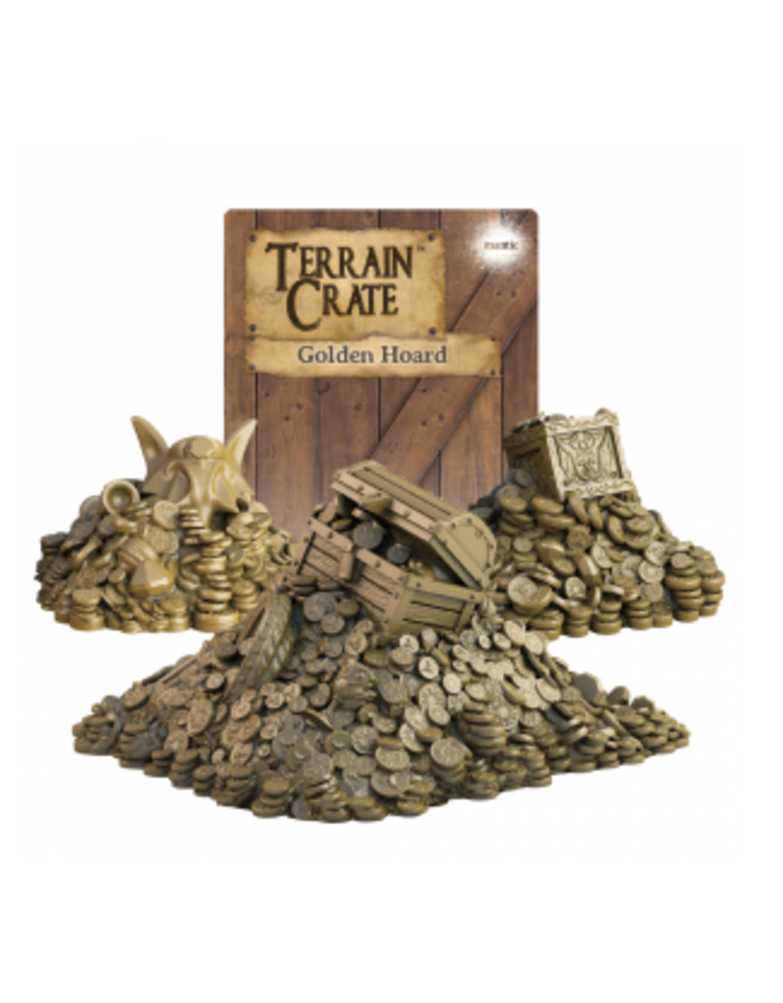 Mantic Games Terrain Crate Golden Horde