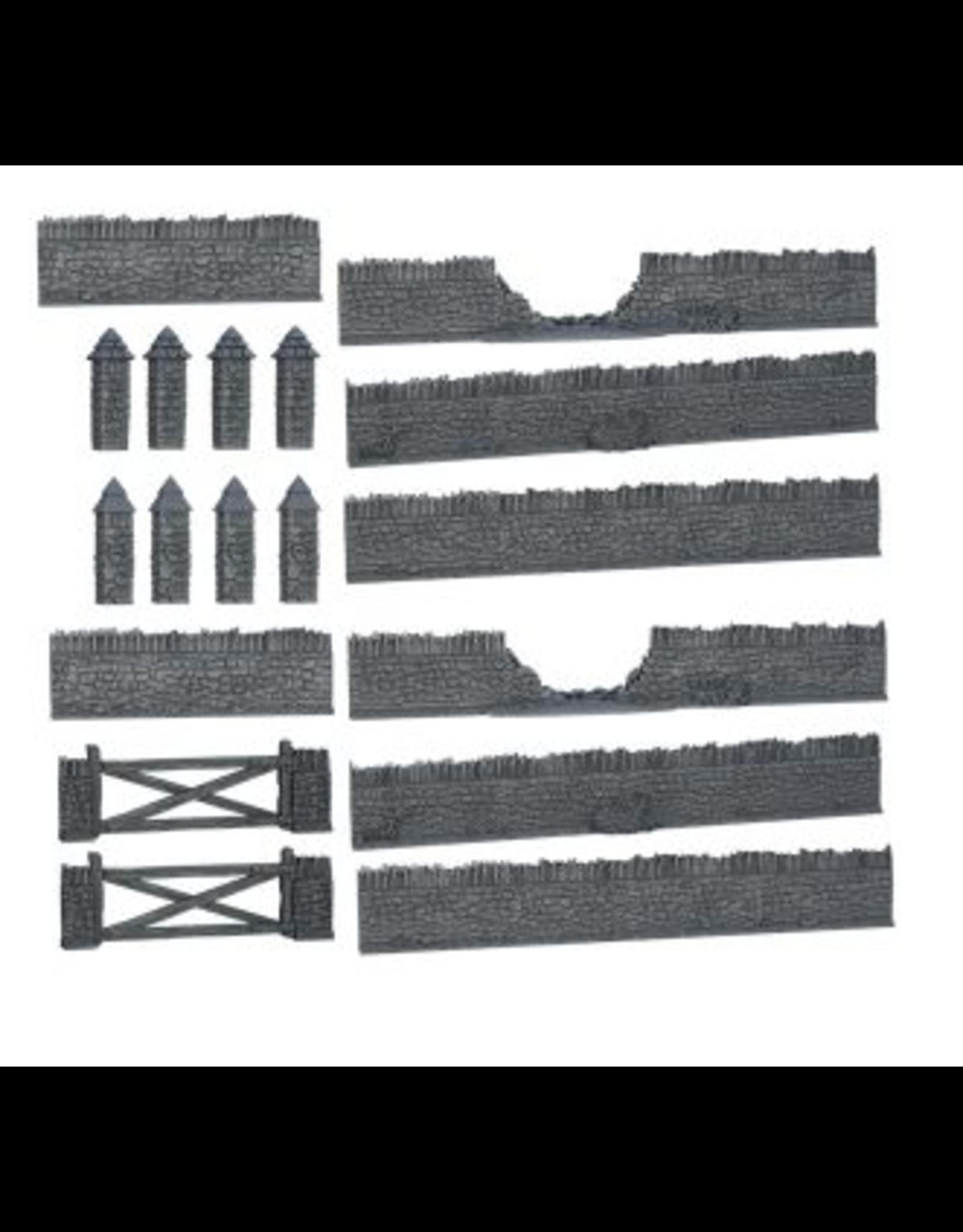 Mantic Games Terrain Crate Battlefield Walls