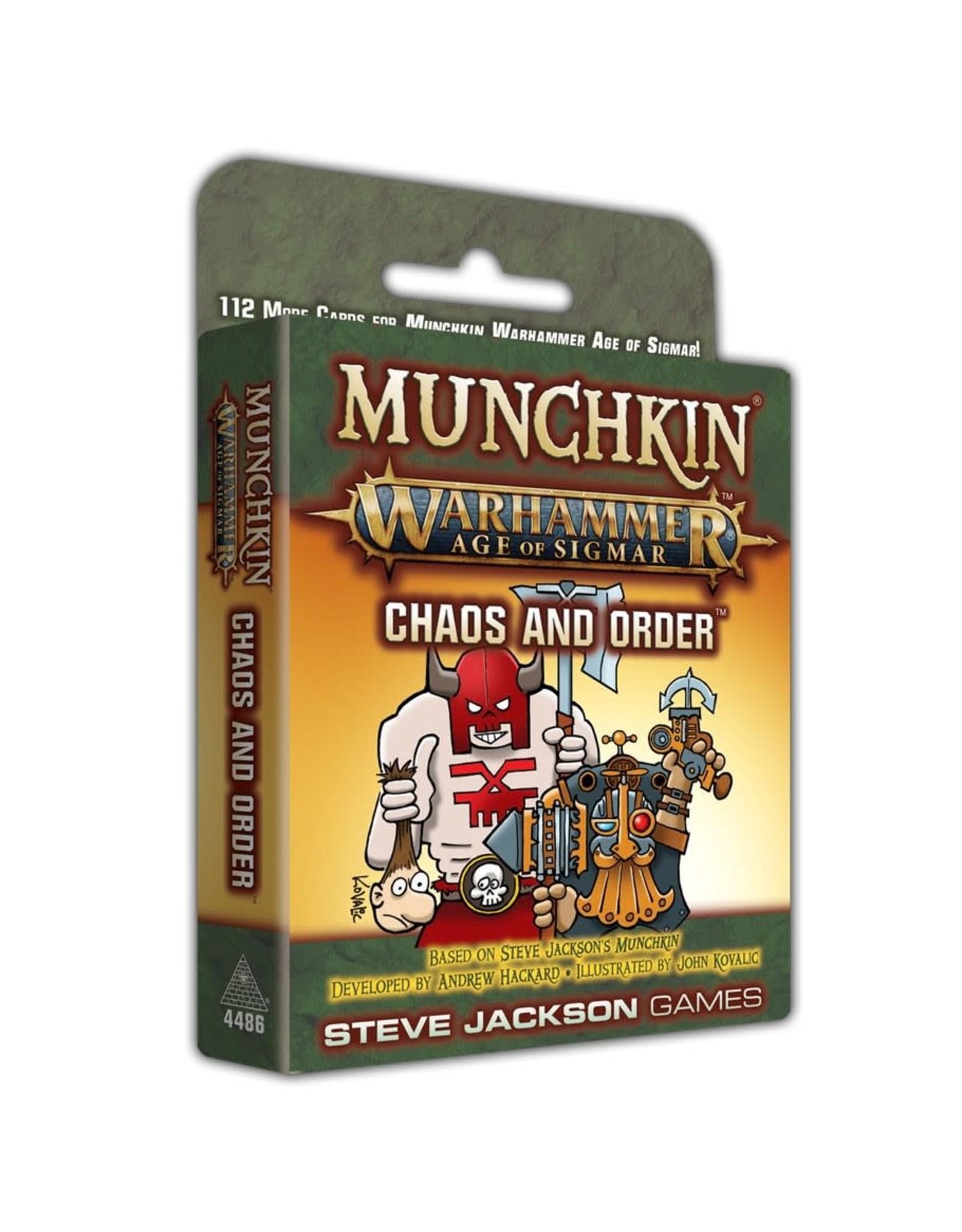 Steve Jackson Games Munchkin: Warhammer Age of Sigmar - Chaos and Order