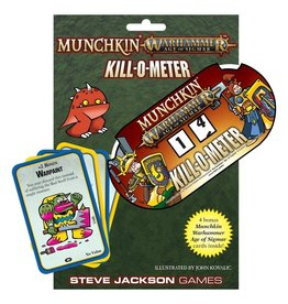 Steve Jackson Games Munchkin: Warhammer Age of Sigmar - Kill-O-Meter