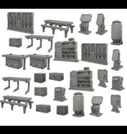 Mantic Games Terrain Crate Starship Scenery