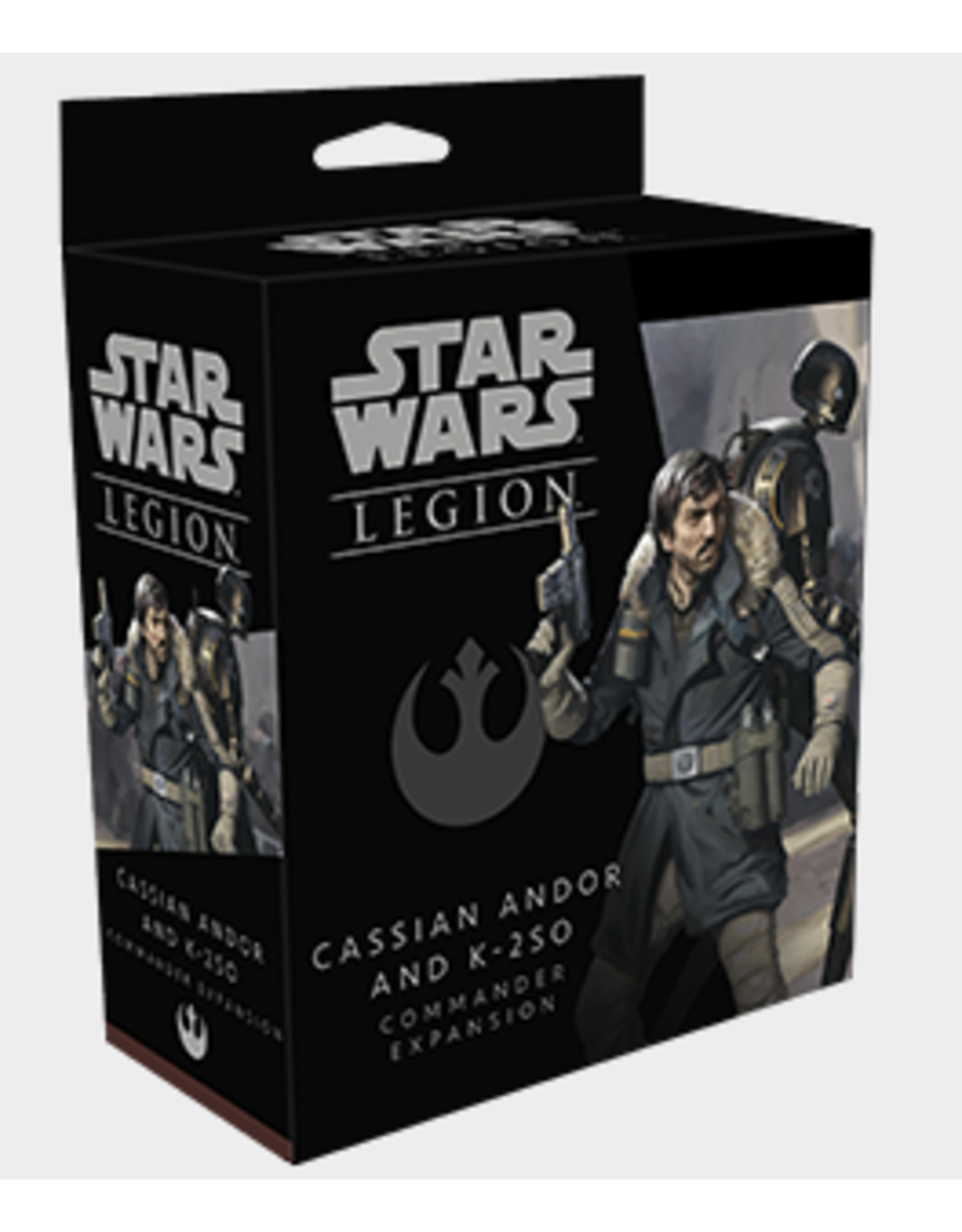 Fantasy Flight Games Star Wars: Legion - Cassian Andor and K-2SO Commander Expansion