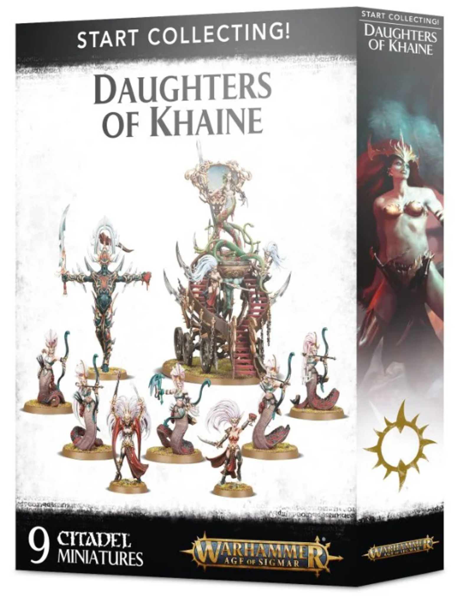 Games Workshop Warhammer Age of Sigmar: Start Collecting! Daughters of Khaine