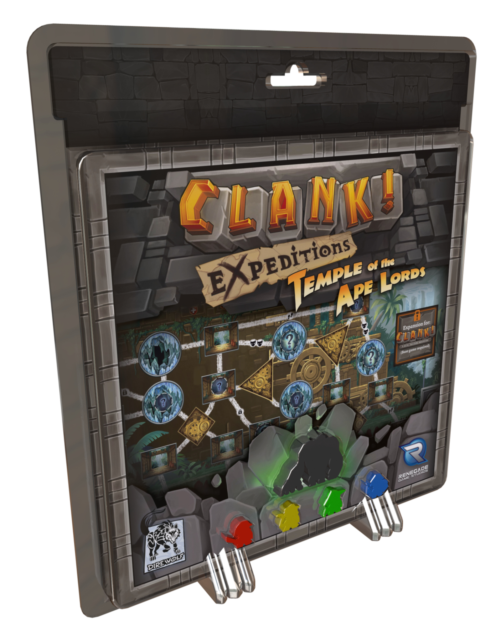 Renegade Clank! Expeditions: Temple of the Ape Lords