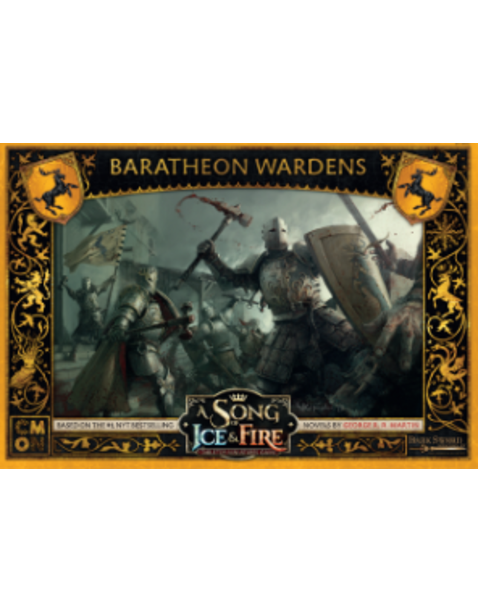 Cool Mini or Not A Song of Ice & Fire Tabletop Miniatures Game: Baratheon Wardens