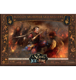 Cool Mini or Not A Song of Ice & Fire Tabletop Miniatures Game: Bloody Mummer Skirmishers