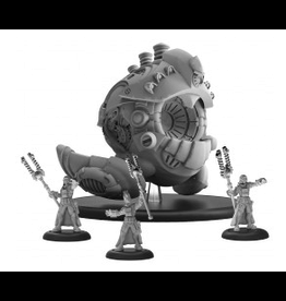 Privateer Press Merc Prime Artificer Nemo Mechaniks RESIN