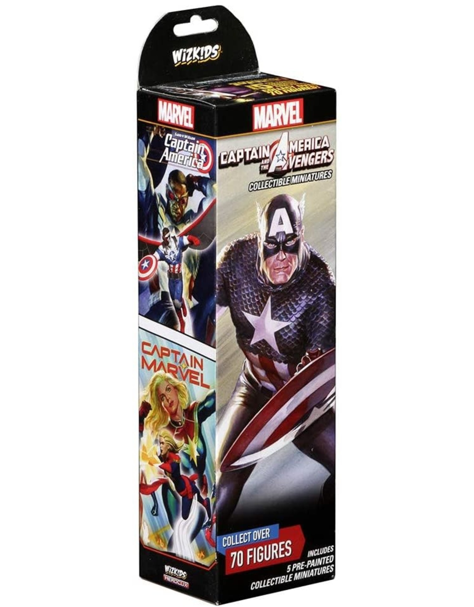 Wizkids Marvel HeroClix: Captain America and the Avengers Booster pack