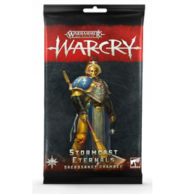 Games Workshop Warcry: Stormcast Sacrosanct Chamber Card Pack