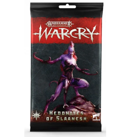 Games Workshop Warcry: Hedonites of Slaanesh Card Pack