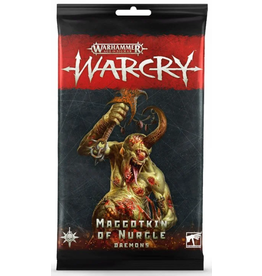 Games Workshop Warcry: Maggotkin of Nurgle Daemons Card Pack