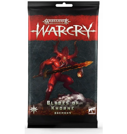 Games Workshop Warcry: Blades of Khorne Daemons Card Pack