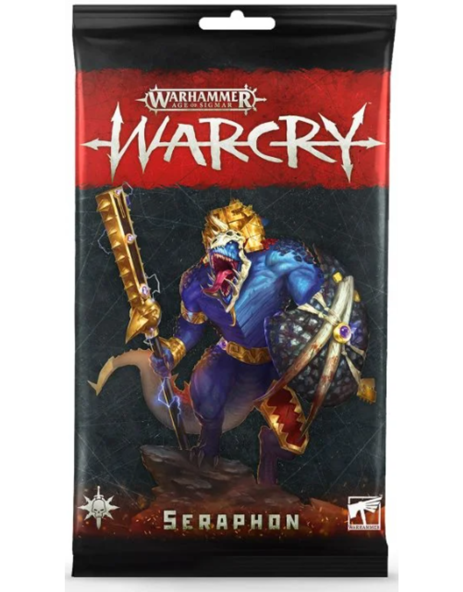 Games Workshop Warcry Seraphon Cards